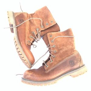 Timberland Leather Boots Size 8.5